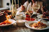Kinderentwicklung: Dinner