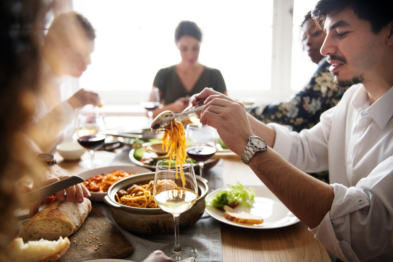 Familienleben: Dinner
