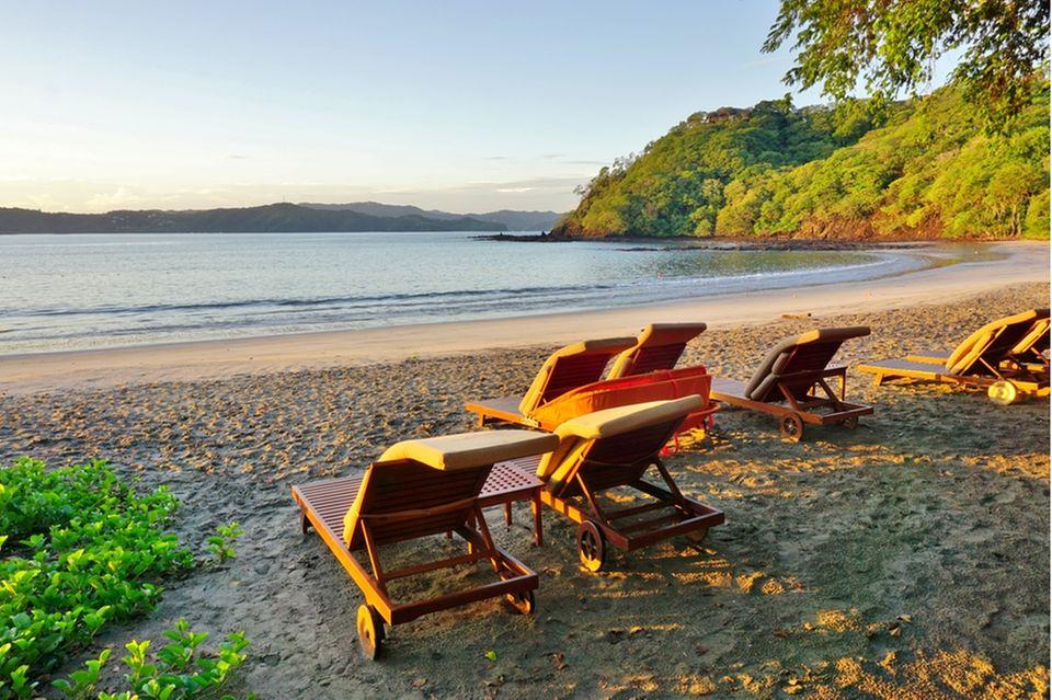 Slow Tourism: Strand von Papagayo in Costa Rica