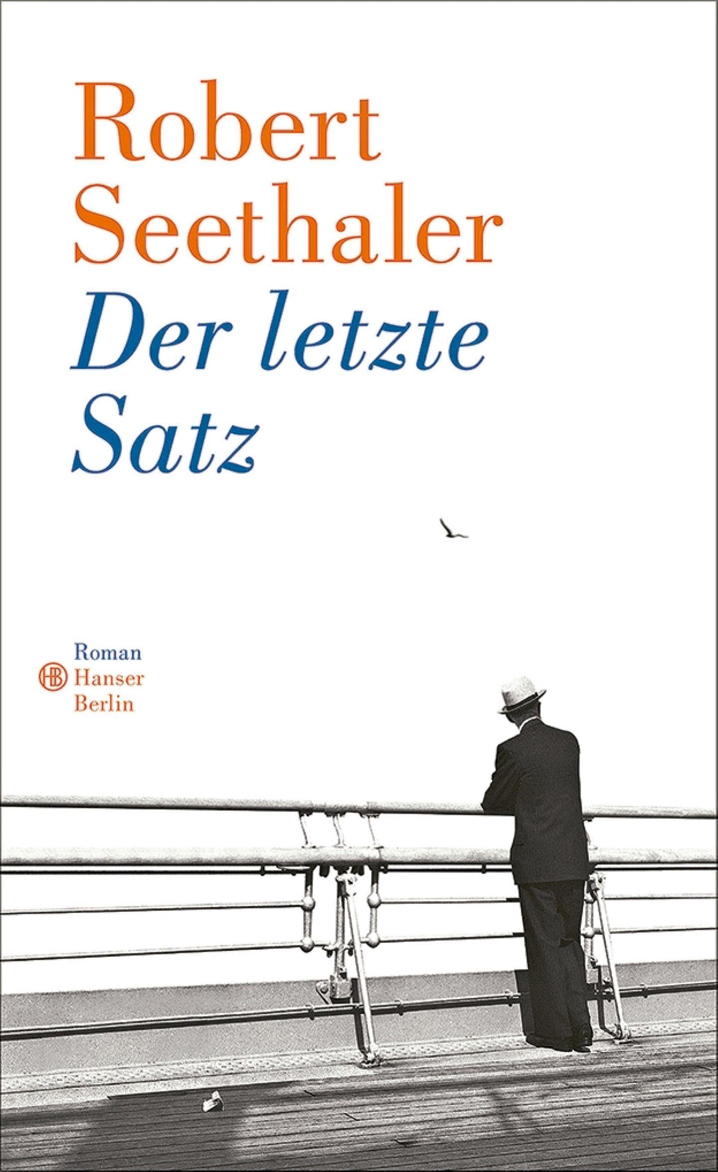 """Buchtipps der Redaktion: Buchcover """"Der letzte Satz"""""""
