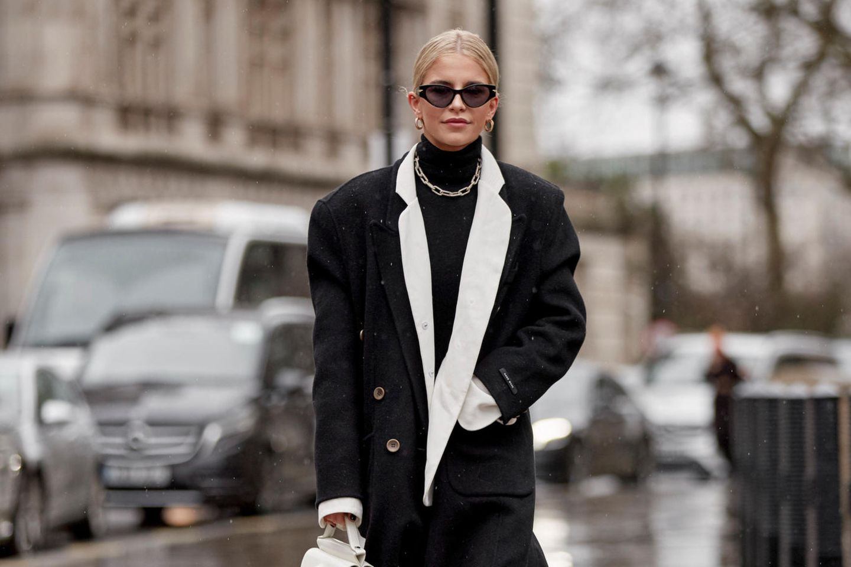 Caro Daur auf der Londoner Fashion Week