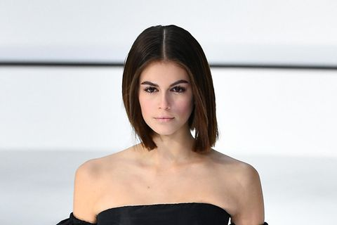 Sharp Bob: Kaia Gerber