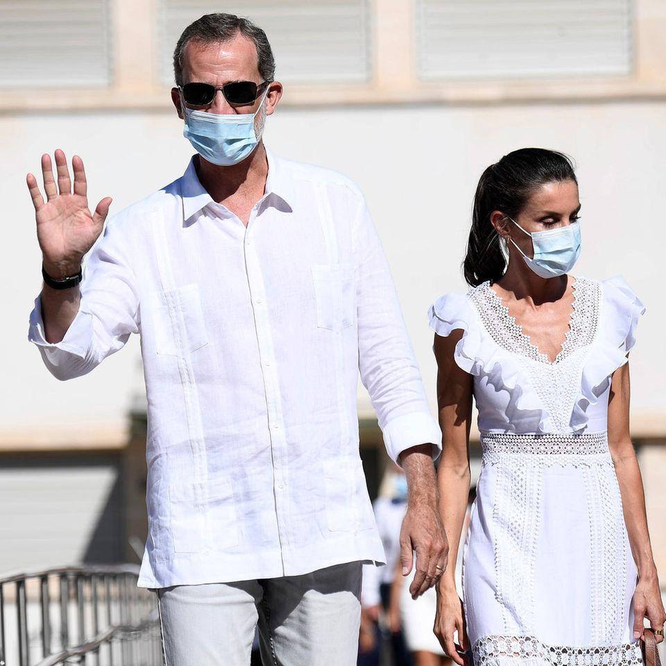 Royals: Ziehen König Felipe und Königin Letizia um?