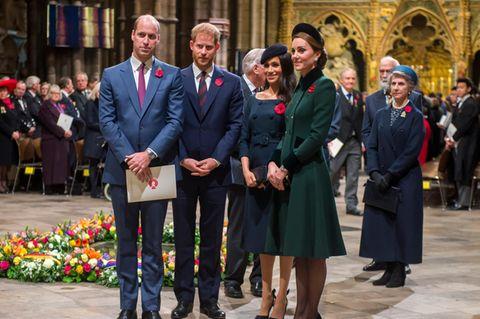Royals: Harry, Meghan, Kate und William werden ausgeschlossen von ....