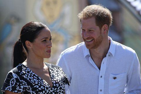Meghan und Harry: Hier müssen sie lachen