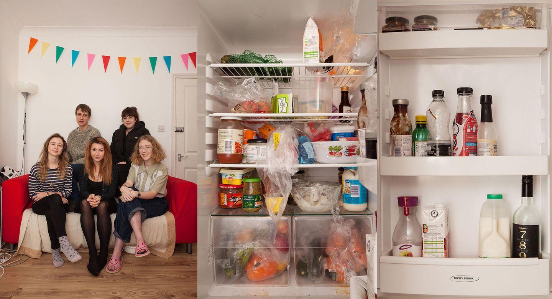 Show me your fridge: Kühlschrank in London