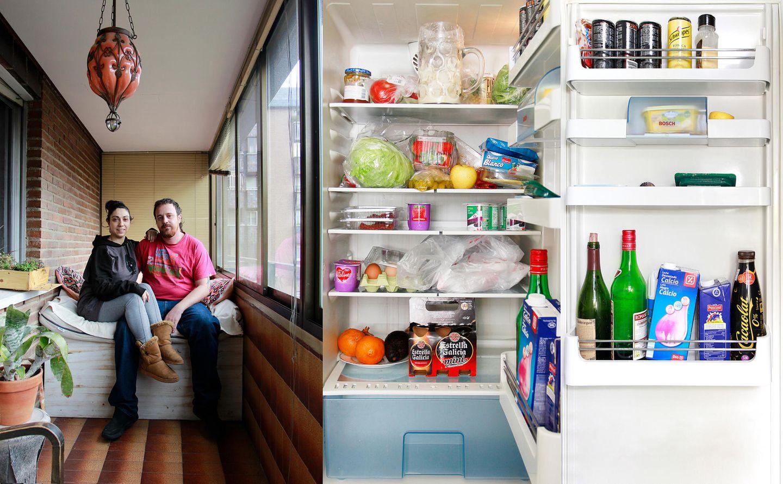 Show me your fridge: Kühlschrank in Madrid