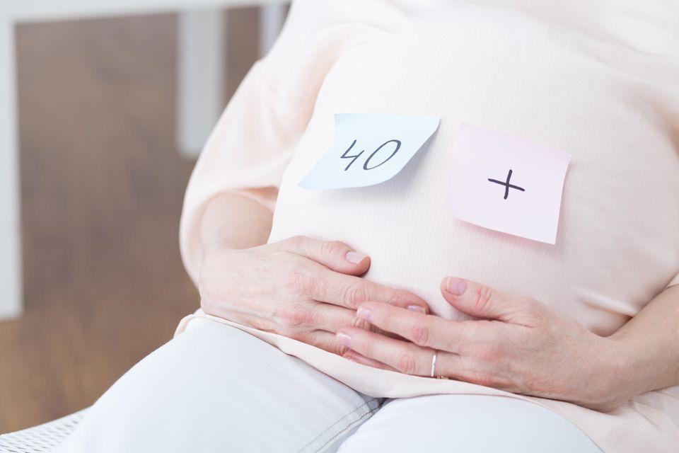 Kinderwunsch: Schwangere