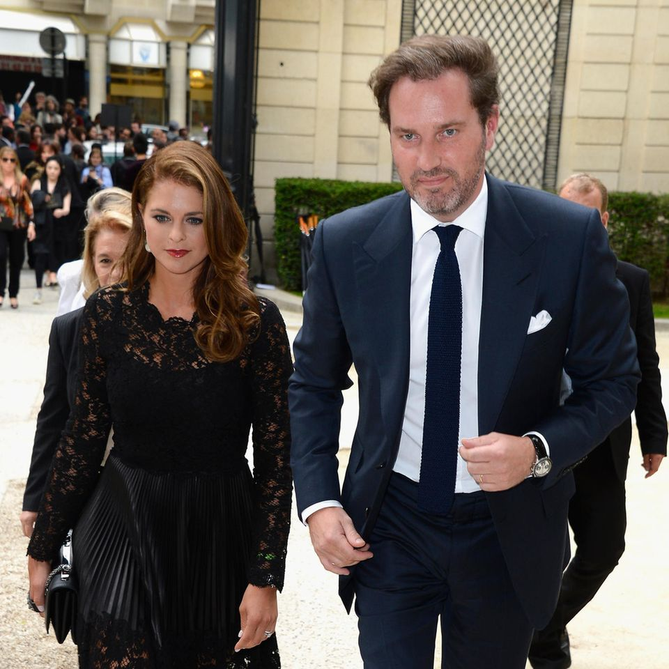Prinzessin Madeleine und Chris O'Neill verpassen Hochzeit