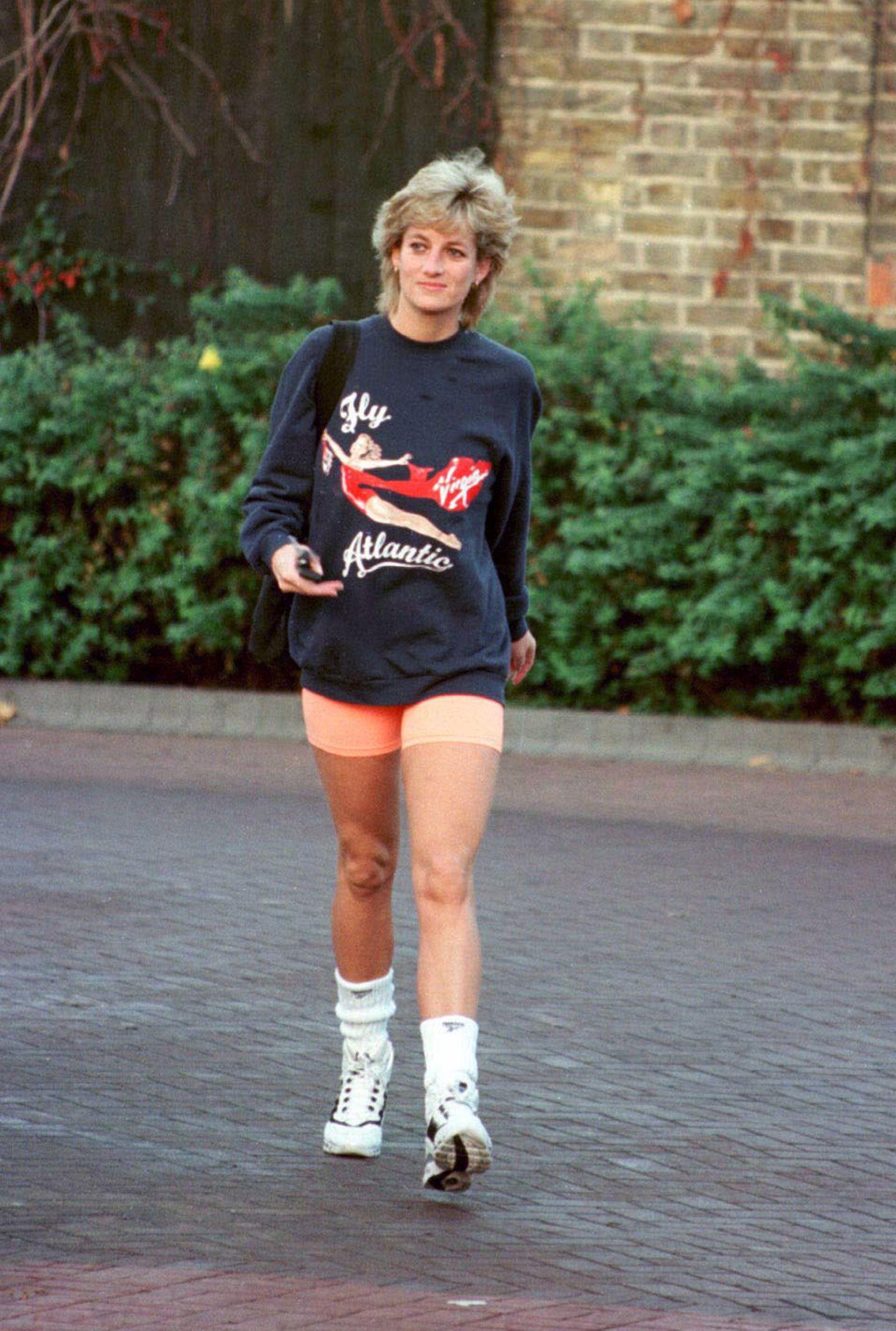 Lady Diana: in Radlerhosen