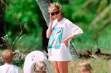Lady Diana: im T-shirt