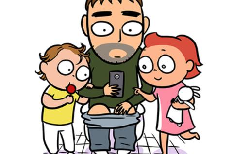 Zum Schießen!: Comics zeigen die Wahrheit über das Leben als Vater