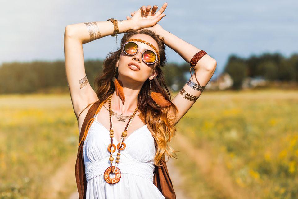 Hippie Frisur
