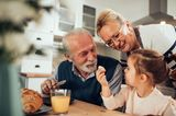 Partnerschaft: Kind bei den Großeltern