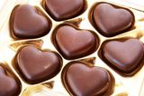 Partnerschaft: Schokoladenherzen