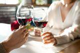 Partnerschaft: Paar beim Dinner