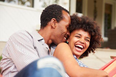 Partnerschaft: Glückliches Paar
