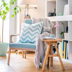 Leseecke einrichten: Sessel