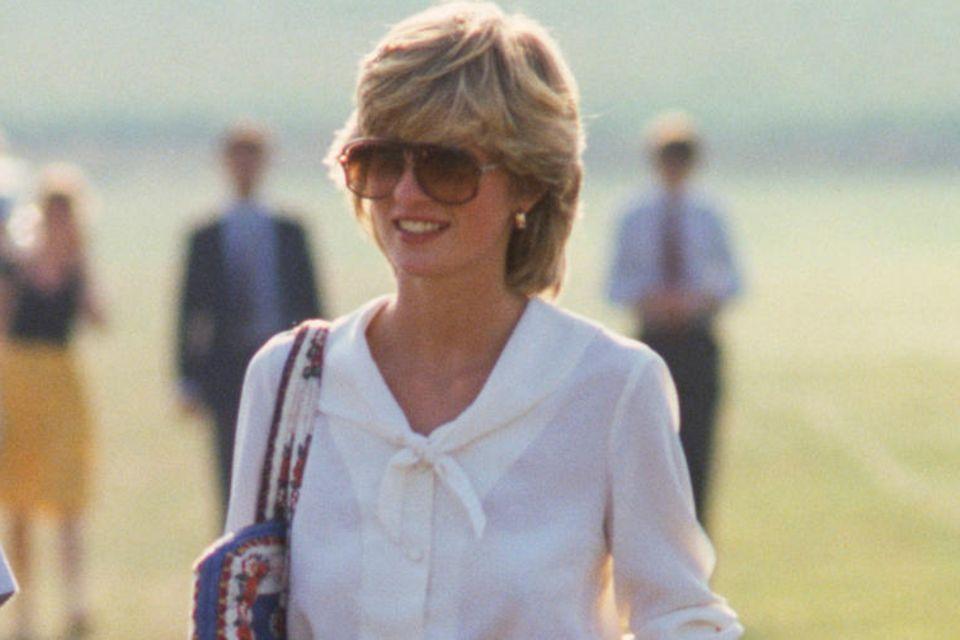 Lady Diana: in blauer Hose