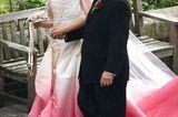 Bunte Hochzeitskleider: Gwen Stefani