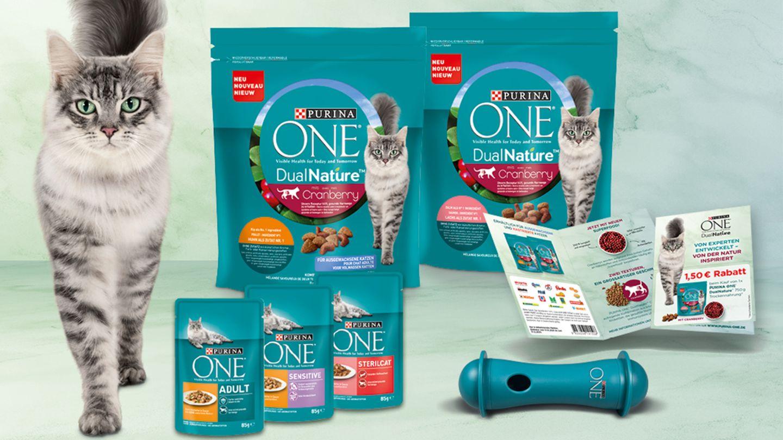 Jetzt mit Purina ONE ein Produktpaket für Katzen gewinnen
