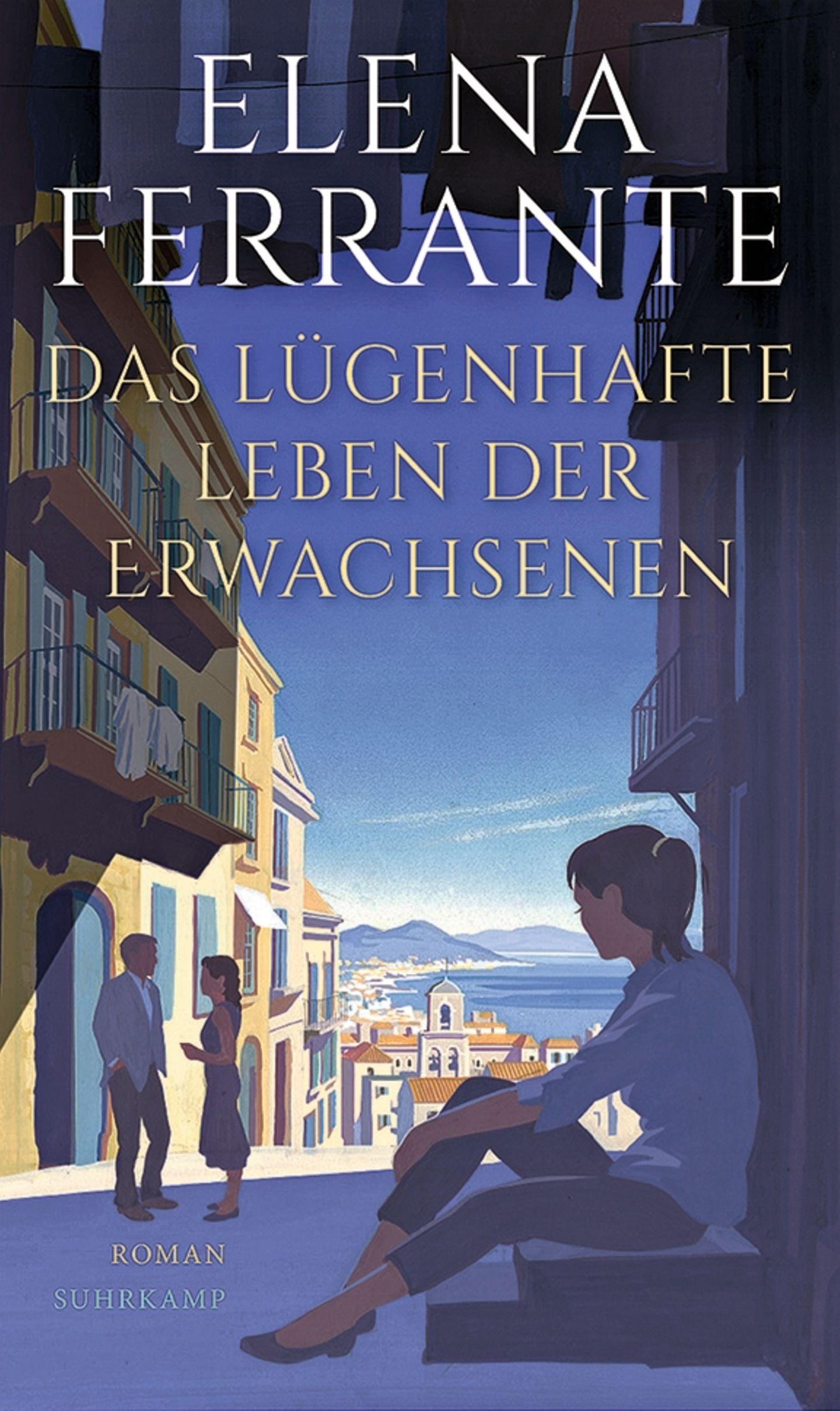 """Buchtipps der Redaktion: Buchcover """"Das lügenhafte Leben der Erwachsenen"""""""