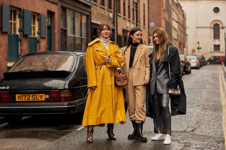 Stylisch durch den Regen : Die schönsten Outfit-Kombis für Schlecht-Wetter-Tage
