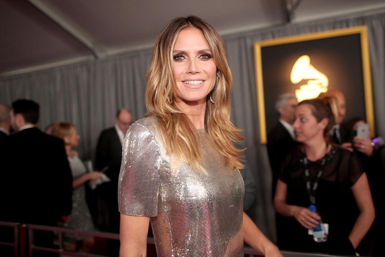 Heidi Klum: Sexy Wochenstart - Hier lässt das Model die Hüllen fallen