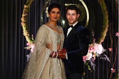 Bunte Hochzeitskleider: Priyanka Chopra und Nick Jonas