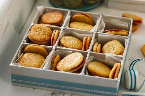 Schwedische Kekse: Gefüllte Julplätzchen