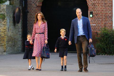 Royals: Herzogin Kate + Prinz William: Wie geht's mit ihren Kindern weiter?