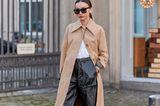 Die Culottes ist das perfekte Herbst-Essential, wie diese skandinavische Fashionista beweist. Aus Leder und zu Stiefeln und Trench kombiniert hält sie nicht nur warm, sondern ist lässig und elegant zugleich.
