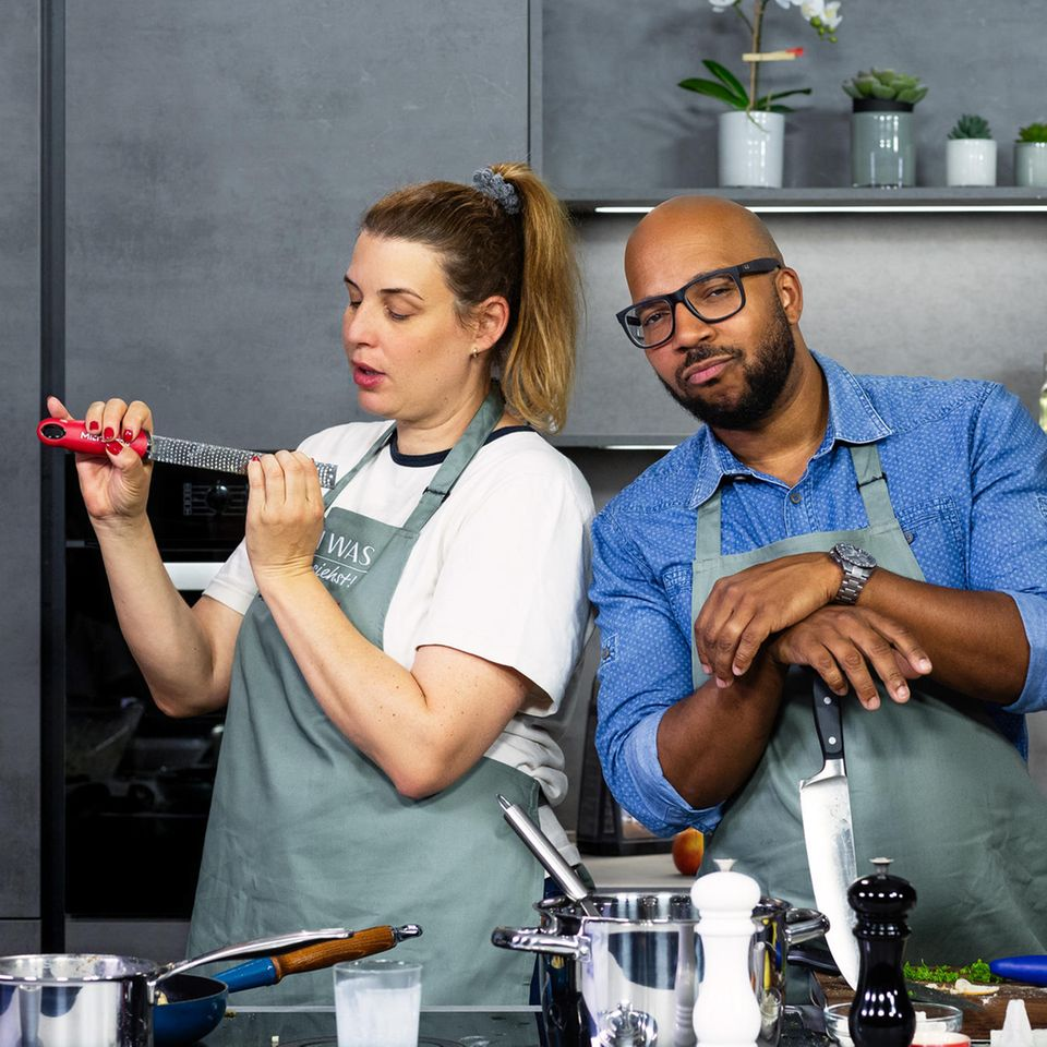 """""""Ich koch was, was du nicht siehst"""" mit Elena Uhlig"""