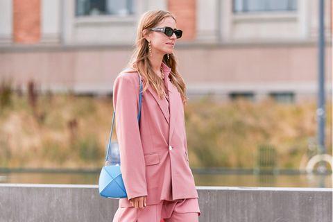 Zweiteiler: Besucherinnen der Fashion Week Kopenhagen