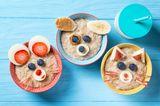 Kinderernährung: Kinderbrei mit Tierdeko