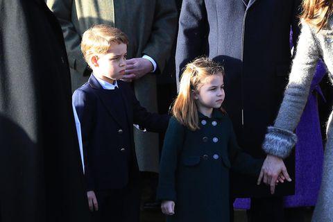 George und Charlotte: Endlich Wiedersehen mit der Queen