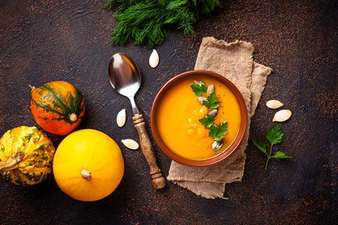 Herbstküche: Kürbissuppe