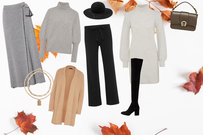 Cashmere stylisch kombinieren: 10 Looks, die euer Modeherz im Herbst höherschlagen lassen