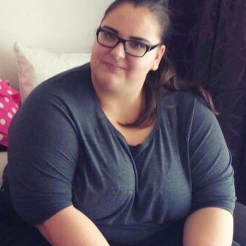 100 Kilo: Saskia vor der Abnahme