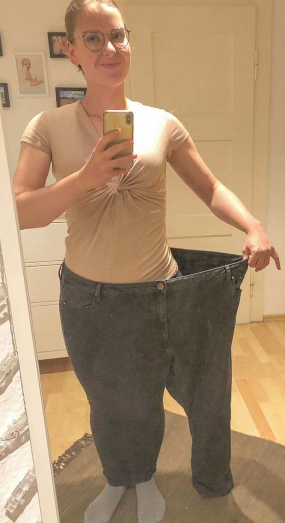 100 Kilo: Saskia nach Abnahme