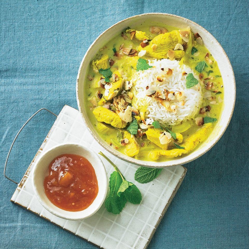Curry-Rezepte: Indisches Hähnchencurry