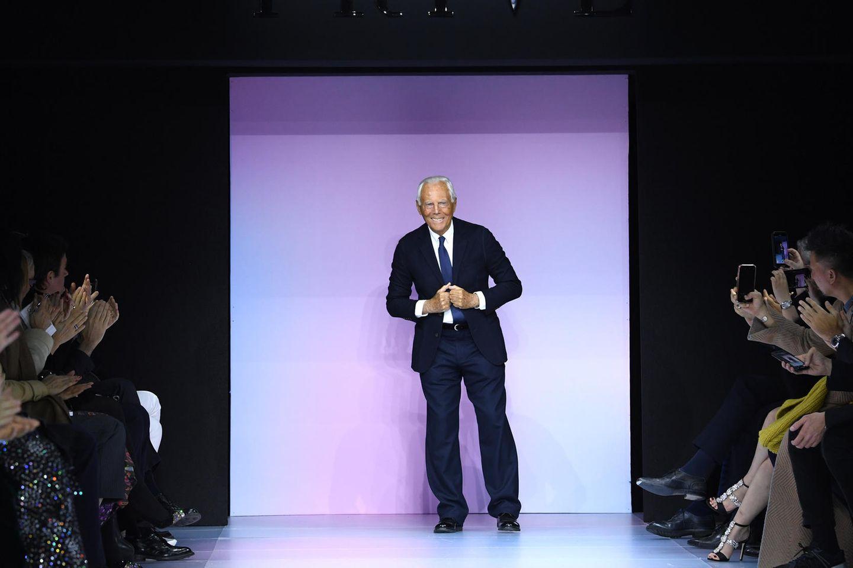 Giorgio Armani verrät: Diese 5 Teile brauchen wir alle in unserem Kleiderschrank