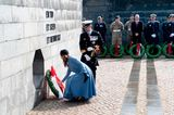 Der Look der Royals: Prinzessin Mary im blauen Blazerkleid