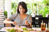 Achtsamkeitsübung beim Essen