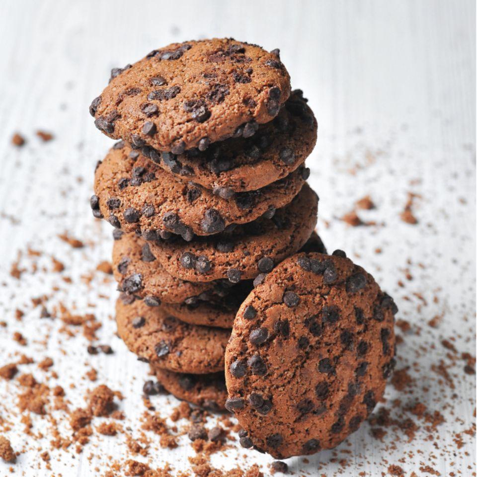 Vegane Schoko-Cookies