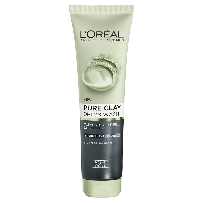 Pure Clay Black Face-Waschgel von L'Oreal