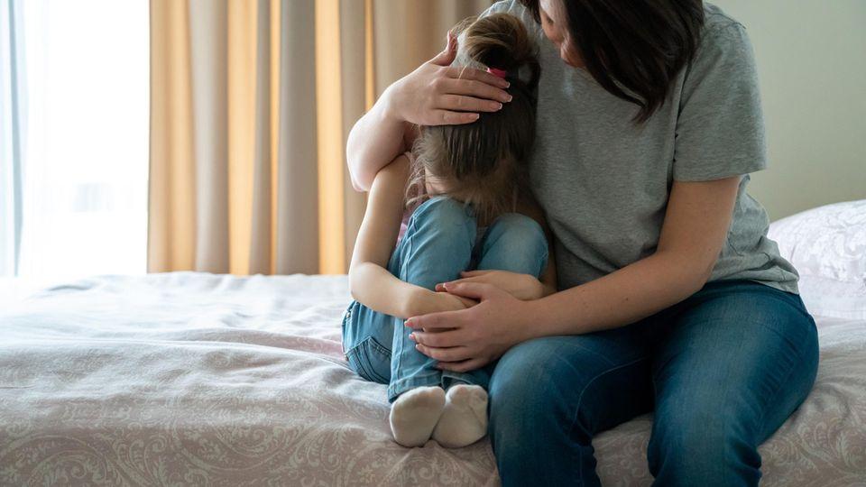 5 Sätze, die ein weinendes Kind trösten