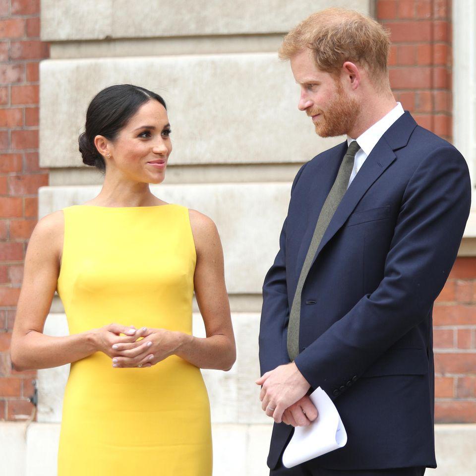 Meghan Markle + Prinz Harry: Haben sie ihre Titel dank Diana behalten?