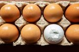 Haushalts-Tricks: angebrochenes Ei