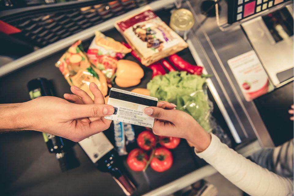 Supermarkt-Test: Kasse